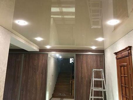 Грамотное размещение освещения в натяжных потолках