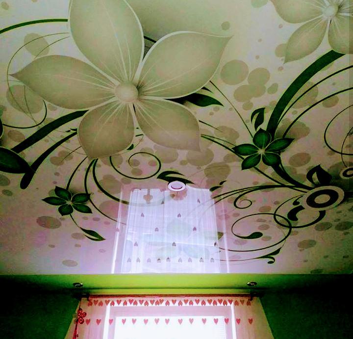 натяжные потолки, пленка MSD