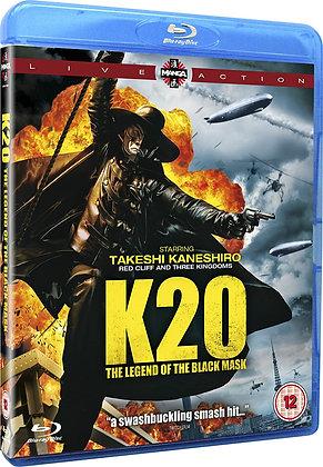 K20 the Legend of the Black Mask