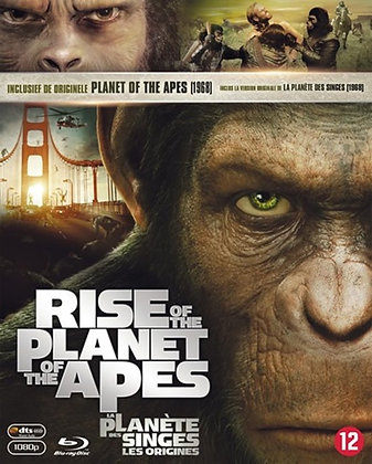 Rise of the Planet of the Apes 2-pack