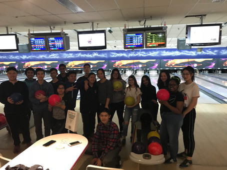 Leadership 10 and 11 go Bowling!