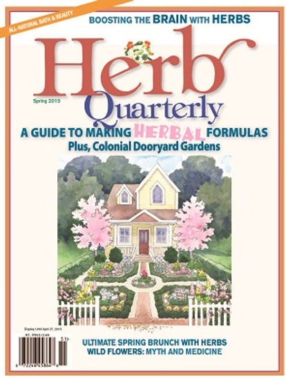 Herb Quarterly Spring 2015/#142
