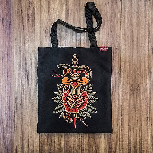Tote Bag Surviving Snake