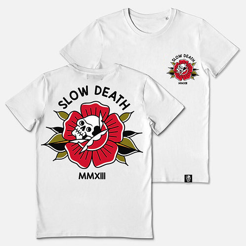 Camiseta / T-Shirt Rose & Skull