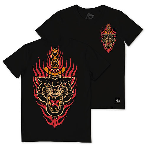 Camiseta / T-Shirt Panther on Fire