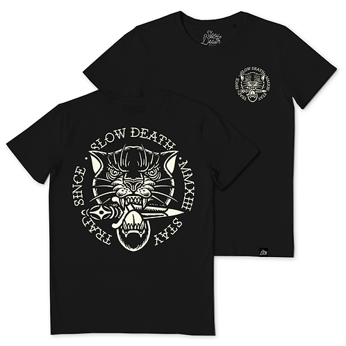 Camiseta / T-shirt Panther and Dagger