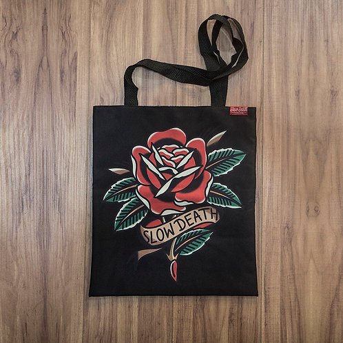 Tote Bag Traditional Rose