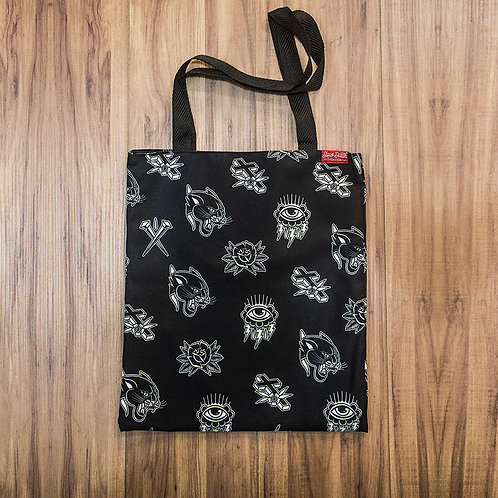 Tote BagTraditional Flashes