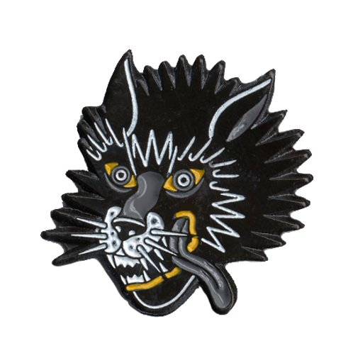 Pin Traditional Wolf