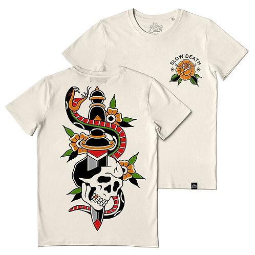 Camiseta / T-shirt Skull & Snake
