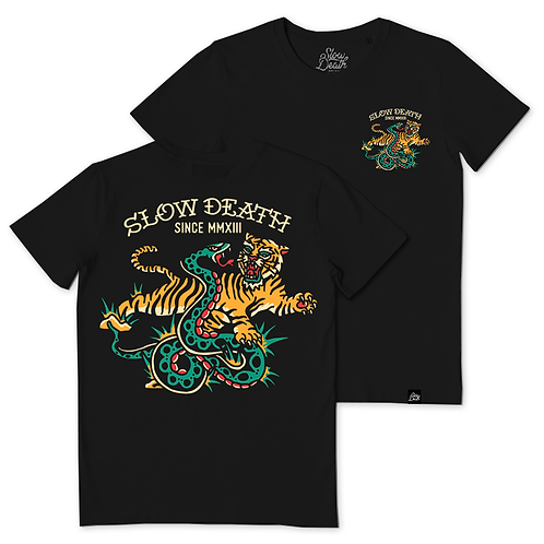Camiseta / T-shirt Tiger and Snake