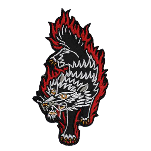 Patch Traditional Wolf