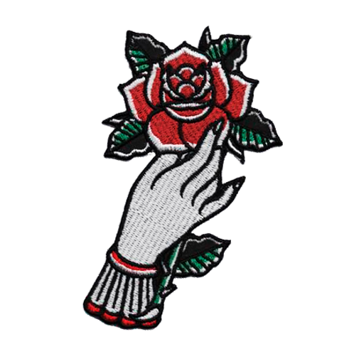 Patch Hand Rose