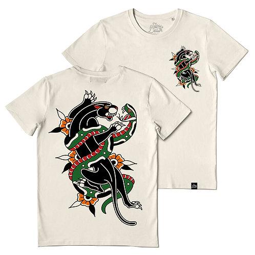 Camiseta / T-shirt Panther & Snake