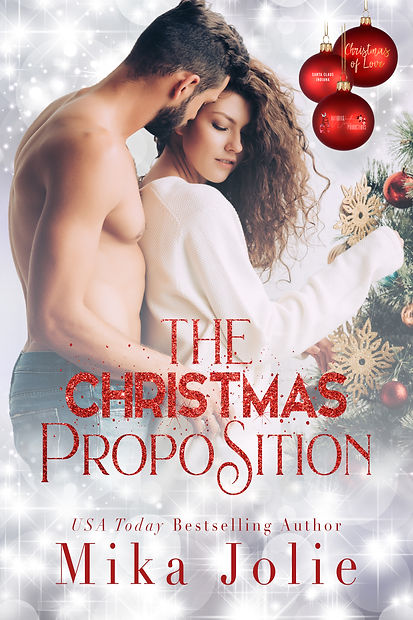 The Christmas Proposition by MJ ecover.j