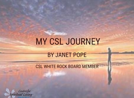 My CSL Journey