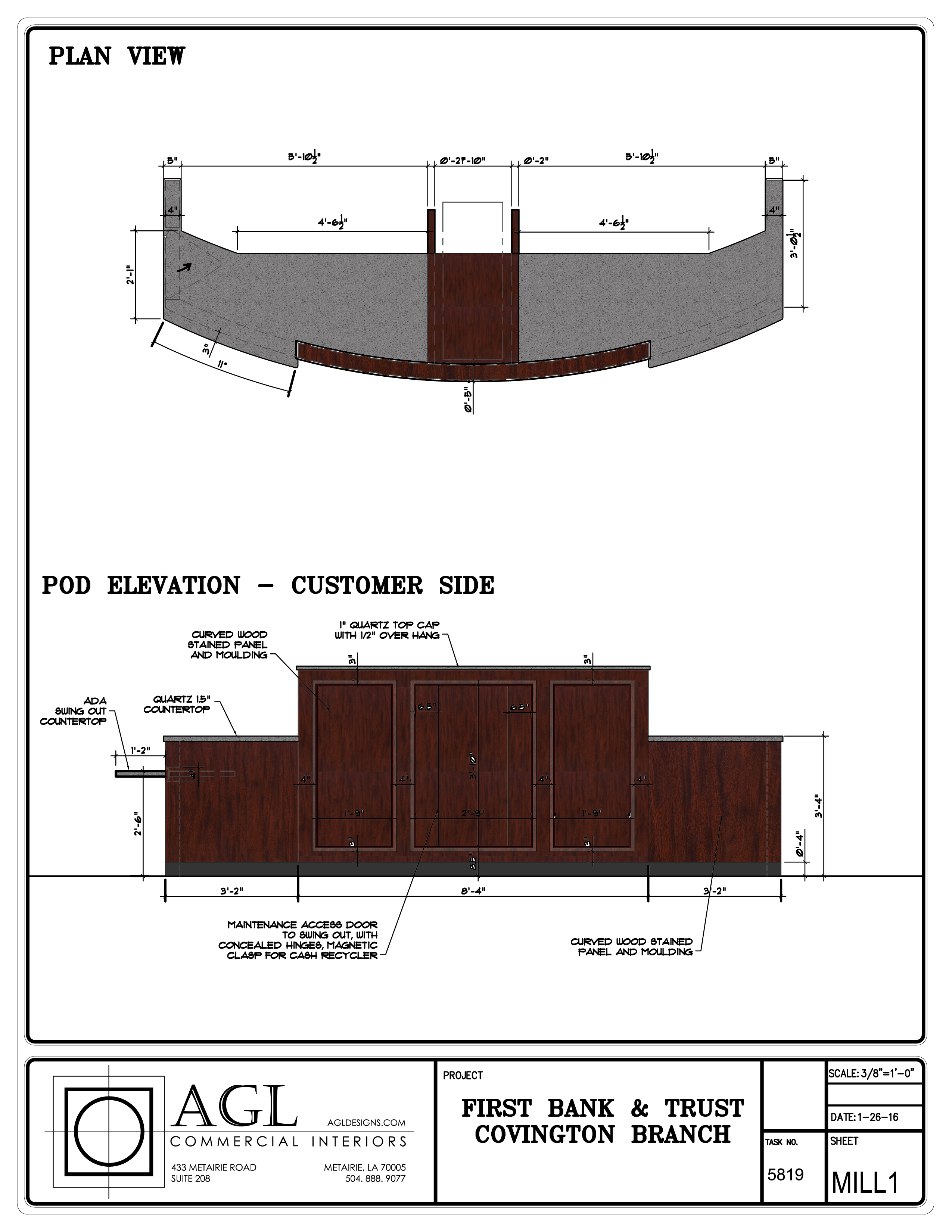 1 Color millwork revisions 2-2-16