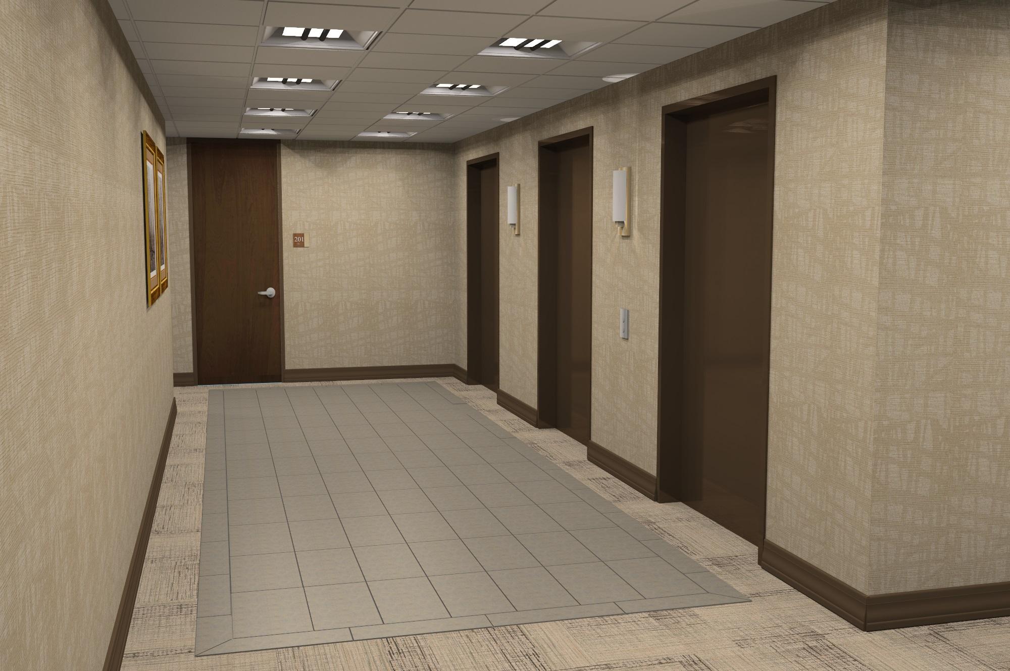 Oakwood Elevator Lobby