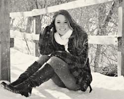 on bridge bw with snow.jpg