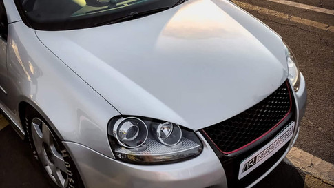 8. VW GOLF 5 GTI - 12.12 @ 180 km/h