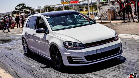 9. VW GOLF 7 GTI -  12.14 @ 185 km/h