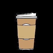 Hot beverage graphic