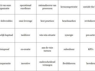Digital Natives en Go-getters: Buzzword Bingo voor beginners