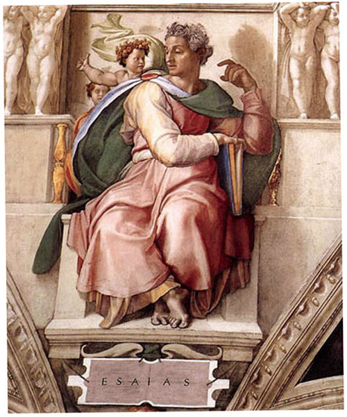 Prophet Isaiah from the Sistine Chapel