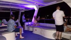 Pelican evening guests deck