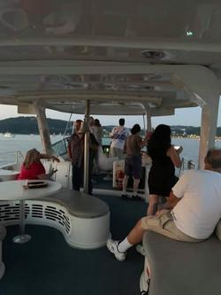 Pelican daytime guests deck 2