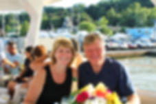 Holly and Steve, River Town Cruises