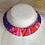 Thumbnail: Collier plastron en Wax inspiration Ethnique large