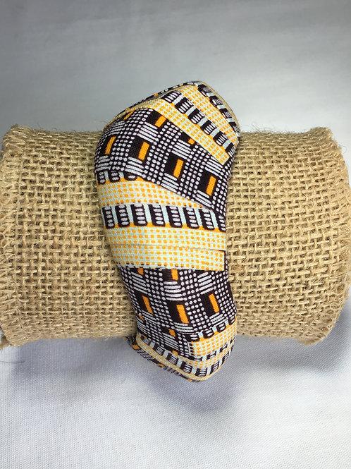 Bracelet manchette rigide Wax