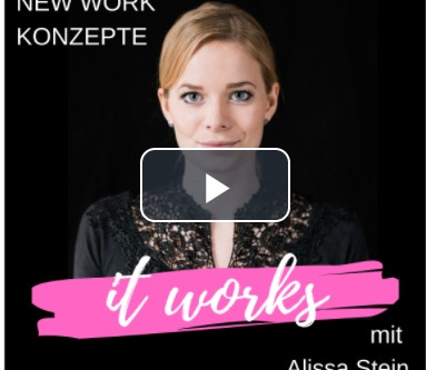 """""""New Work in der Altenpflege"""" - so ist der Titel des Podcasts von Alissa Stein"""