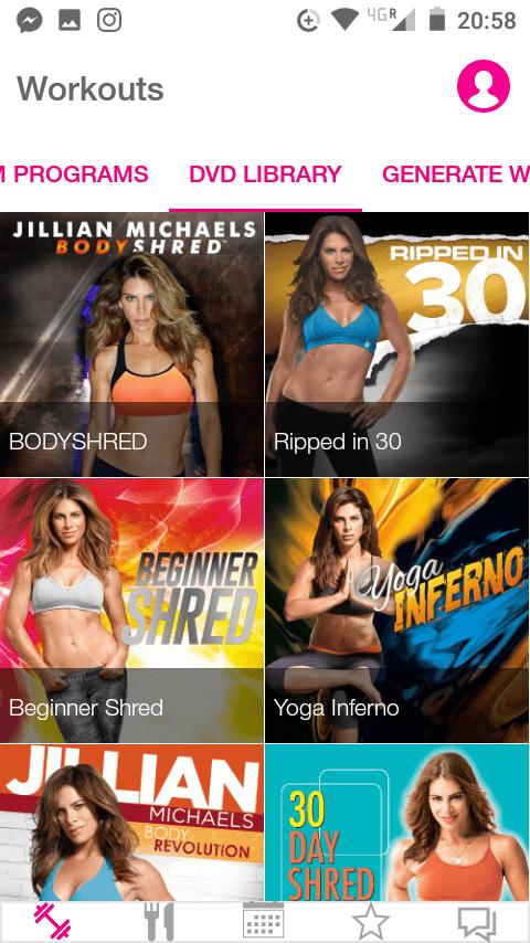 Jillian Michaels App Review