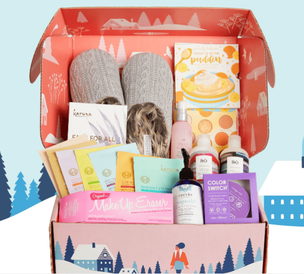 fitness gift basket for her