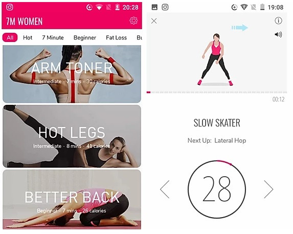 workout apps for women