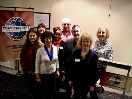 Reflections on a Fantastic Toastmasters Year