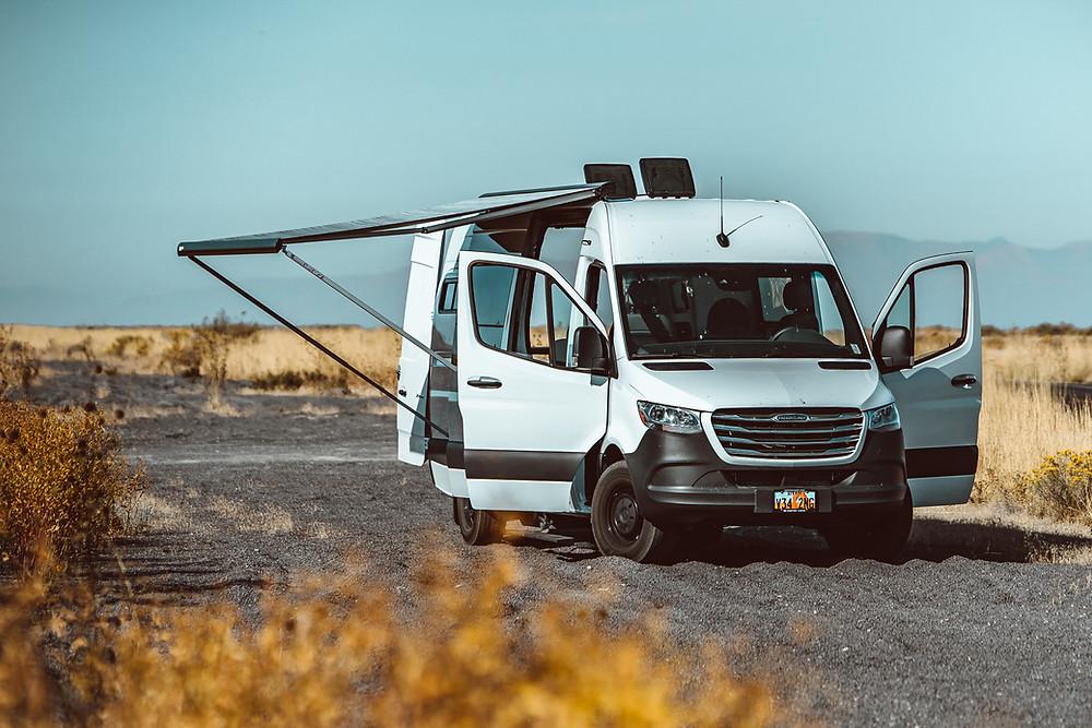 Warner Van Vanbuilders Rental Camper