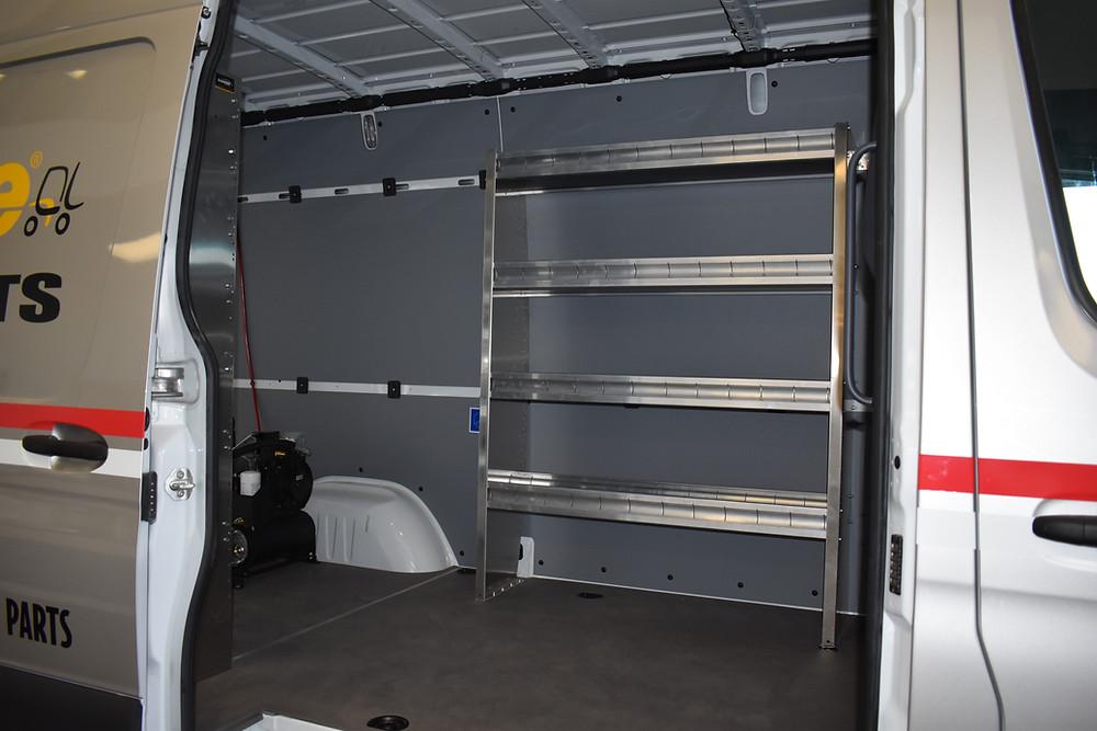 VanBuilders Commercial Upfit Van