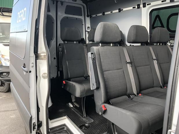 Custom Sprinter Commercial Passenger Van