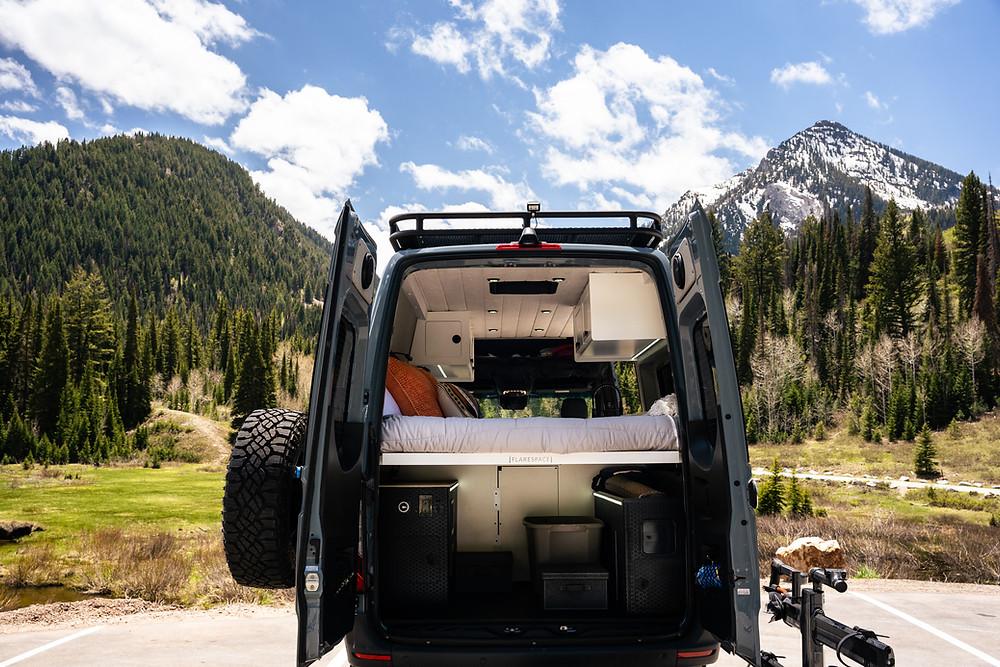 VanBuilders Custom Sprinter Camper Van In Wasatch