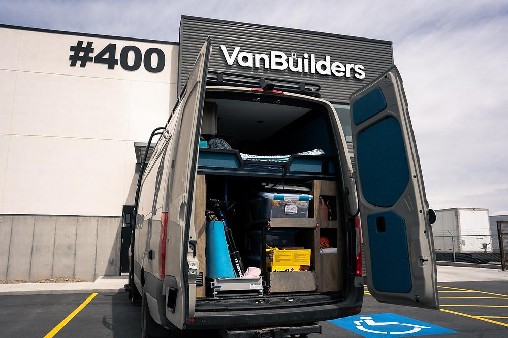 Camper van conversion by VanBuilders