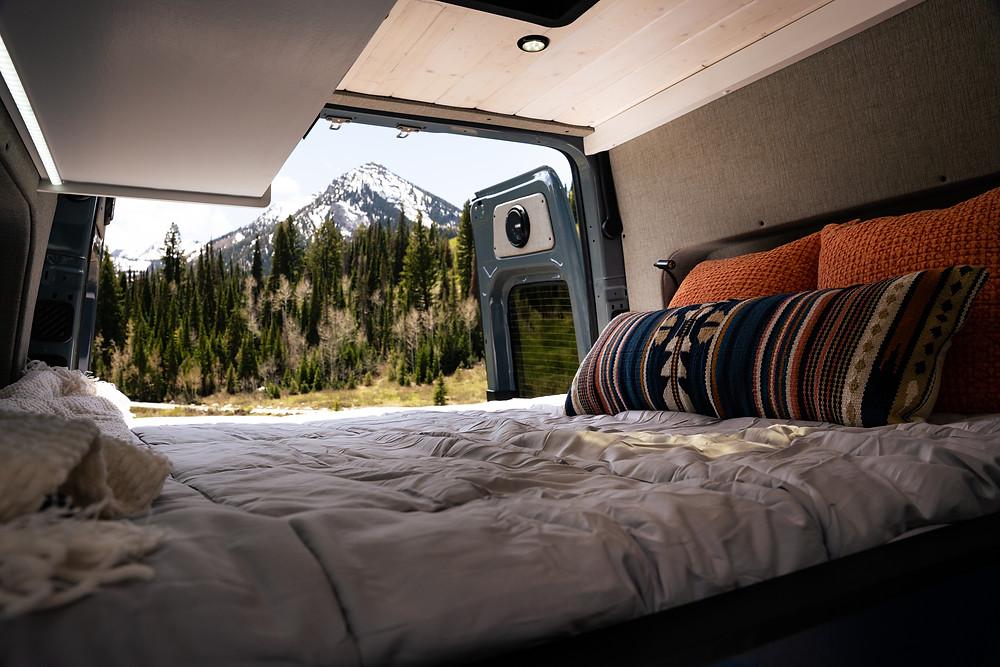 Custom Camper Van Conversion by VanBuilders