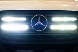 Code 4 LED Mercedes Sprinter lights