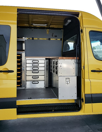 Custom Sprinter Commercial Work Van