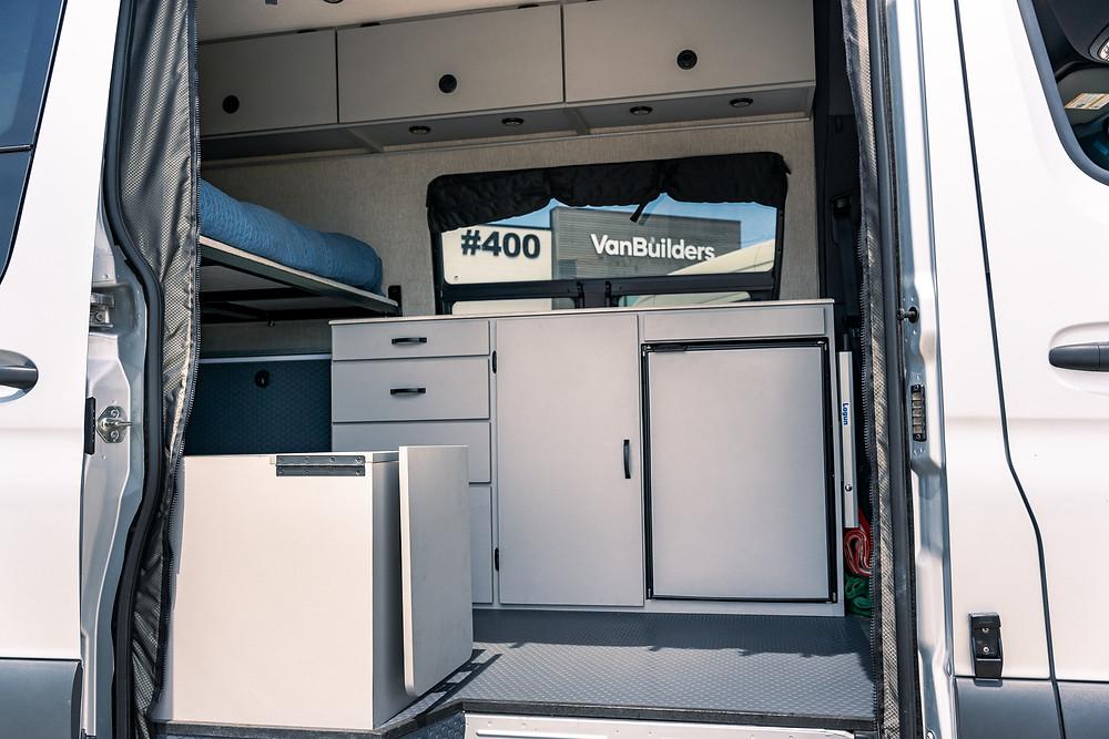 VanBuilders Custom Sprinter Camper Van