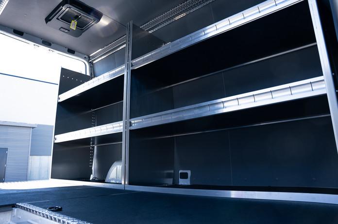 Custom Commercial Cooling Sprinter Van
