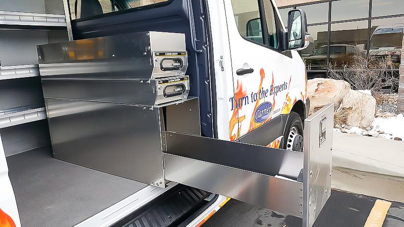Custom Commercial Sprinter Van