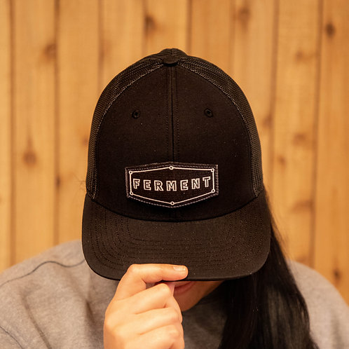 Patched Trucker Hat